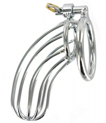 Large Birdcage Steel Chastity Device