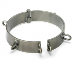Natural Steel Slave Collar