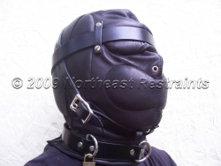 The Dreamer Leather Sensory Deprivation Hood - Nostril Holes Only