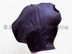 The Peacemaker Leather Deprivation Zip Hood